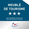 Atout France – Meublés de tourisme 3*